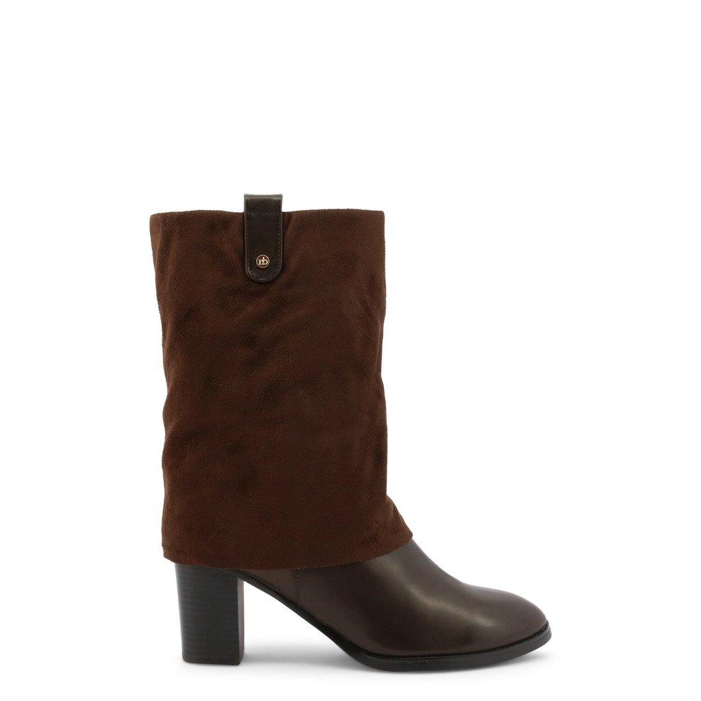 Roccobarocco Women's Boot Brown RBSC1JG01 - brown EU 35