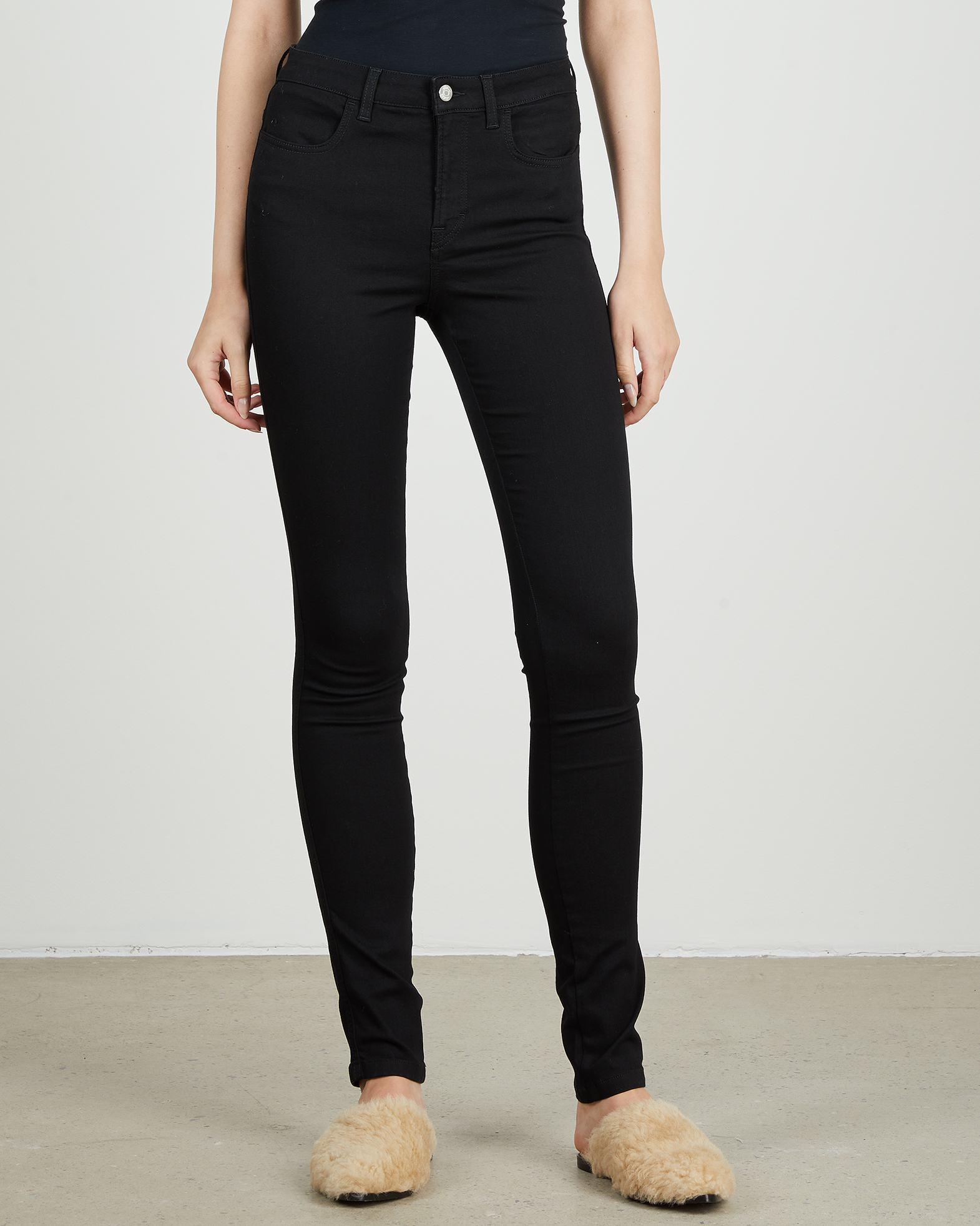 Filippa K Jeans Lola Super Stretch svart 34