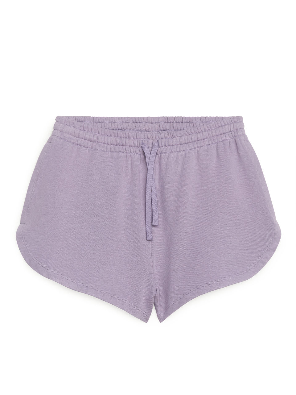 French Terry Shorts - Purple
