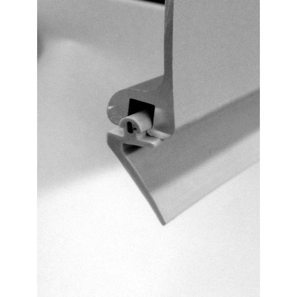 Leijma 8911 Gummilist for dusjkant 2800 x 10 mm