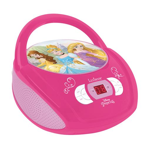 Lexibook - Disney Princess Portable CD player with Mic Jack (RCD108DP)