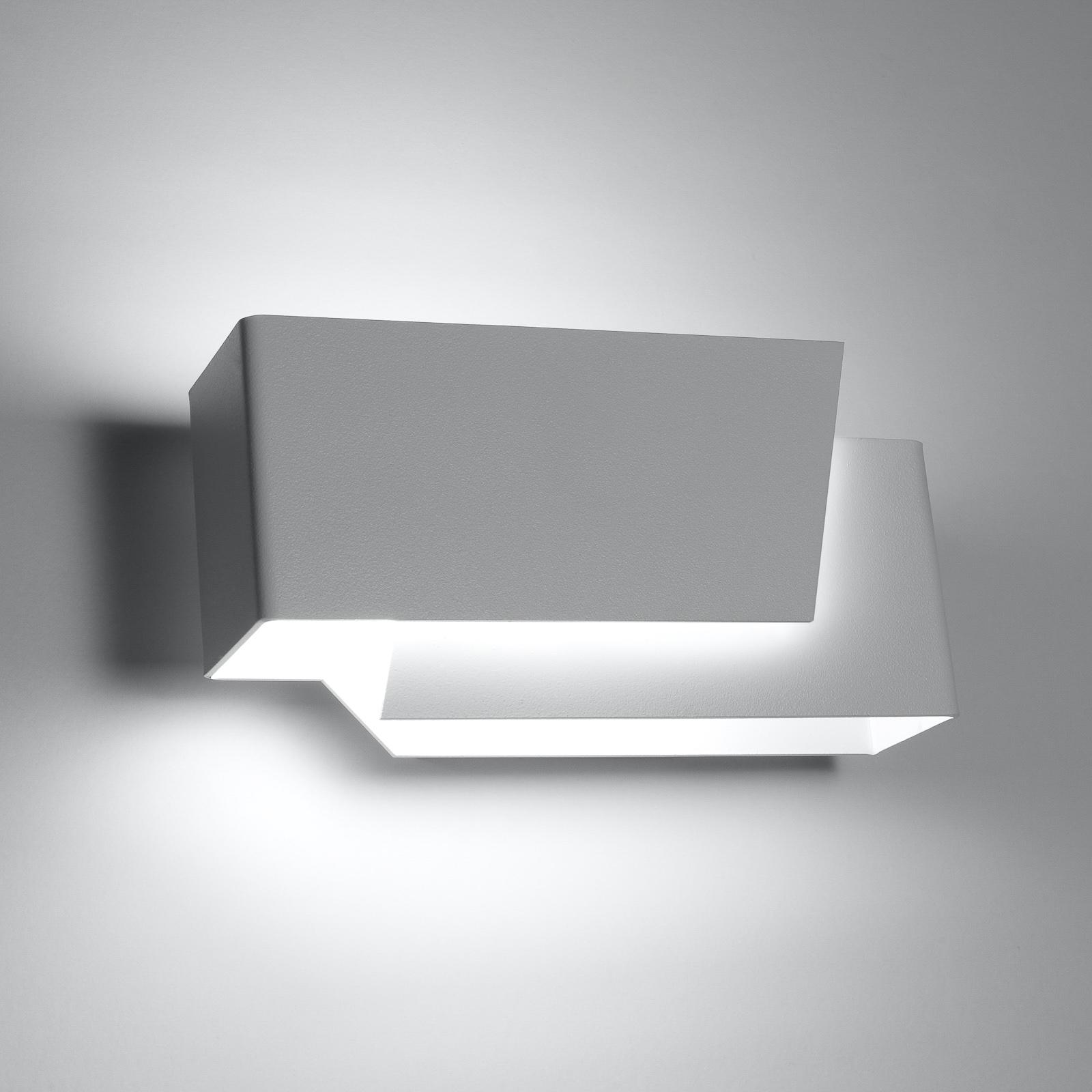 Seinävalaisin Piga, epäsuora säteily, valkoinen