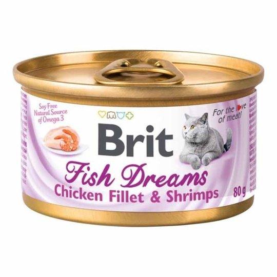 Brit Fish Dreams Kyckling & Räka 80 g