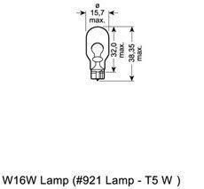 Glödlampa, blinker, Bak, Fram, Ytterspegel, Fram eller bak, Baklucka, Sidoinstallation, Stötfångare