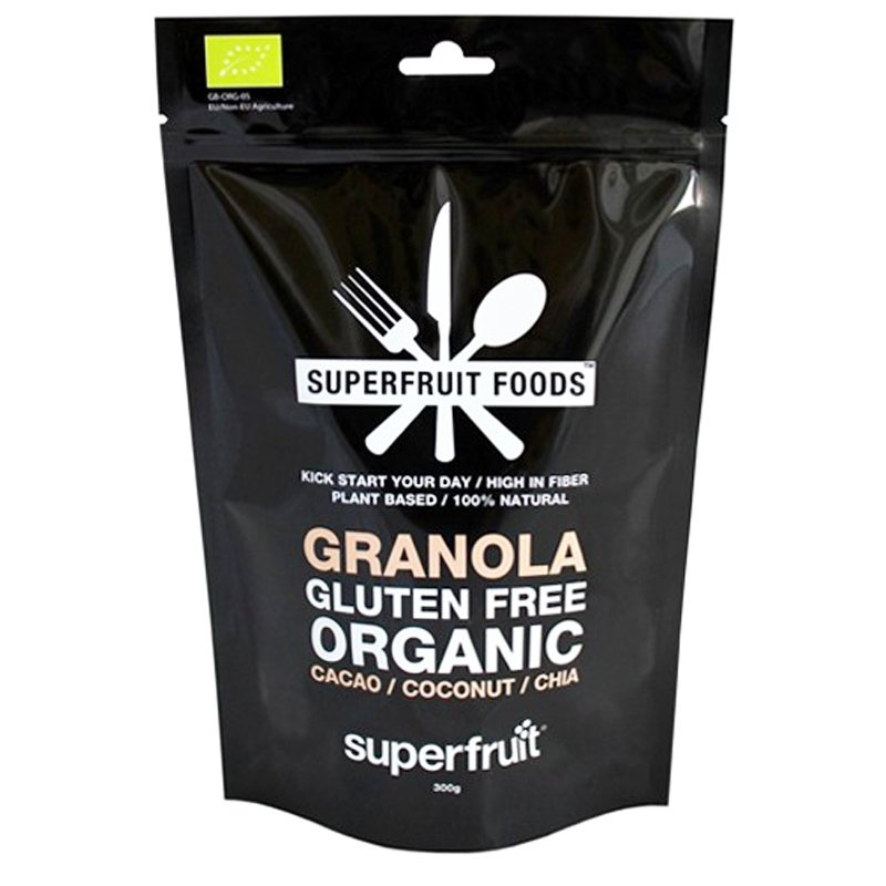 "Eko Granola ""Cacao Coconut & Chia"" 300g - 44% rabatt"