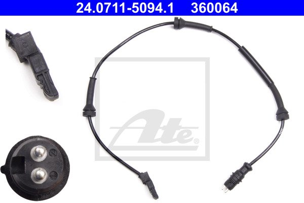 ABS-anturi ATE 24.0711-5094.1