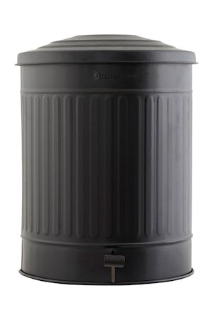 Soptunna Ø 37 cm 49 L - Svart