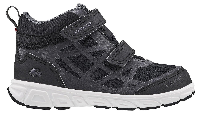 Viking Veme Mid GTX R Sneaker, Black/Charcoal, 22