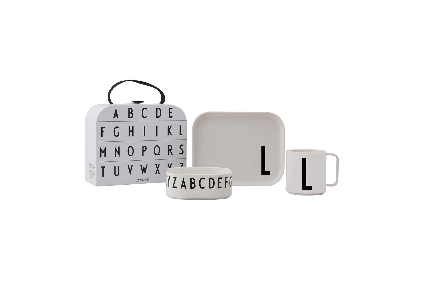 Design Letters - Gift Box Tritan Eating Set - L (20201500L)