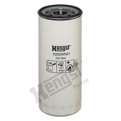 Öljynsuodatin HENGST FILTER H200WN01
