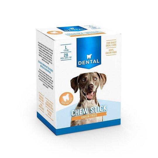 Dental Spannmålsfri Tuggpinne Multipack Large (28-pack)