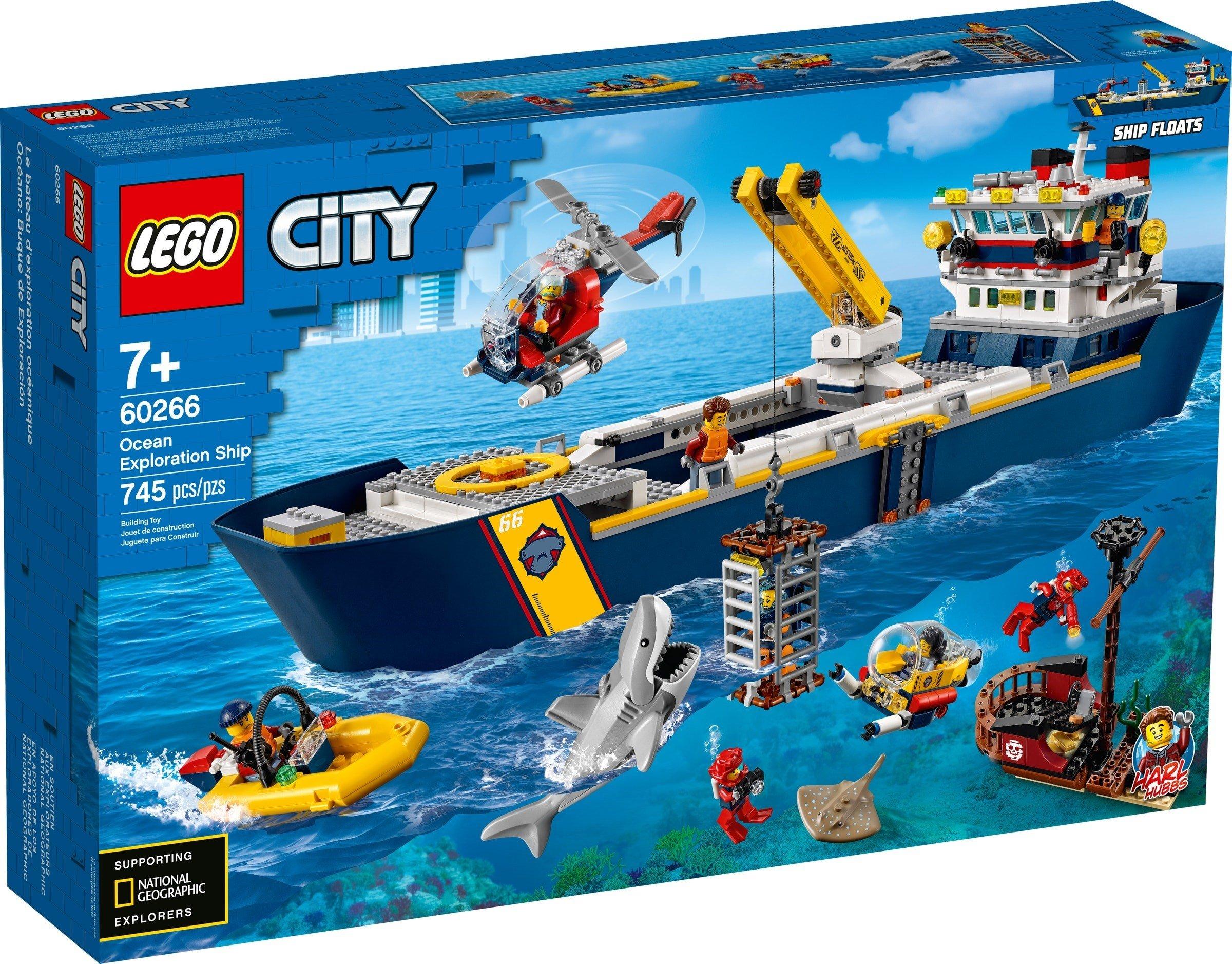 LEGO City - Ocean Exploration Ship (60266)