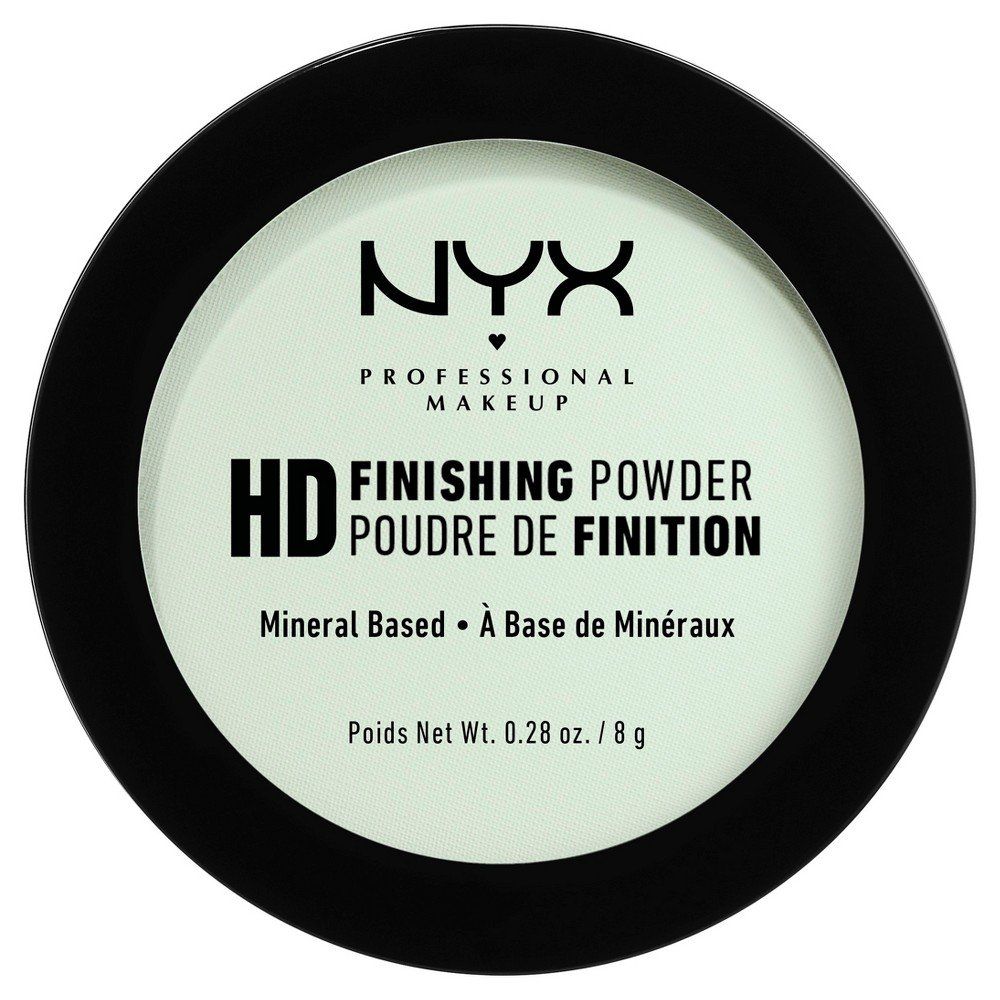 NYX Professional Makeup - High Definition Finishing Powder - Mint Green
