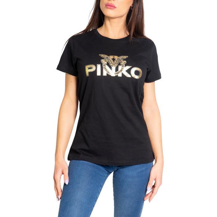 Pinko Women's T-Shirt Black 204094 - black M
