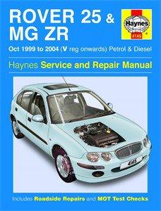 Haynes Reparationshandbok, Rover 25 & MG ZR Petrol & Diesel, Universal