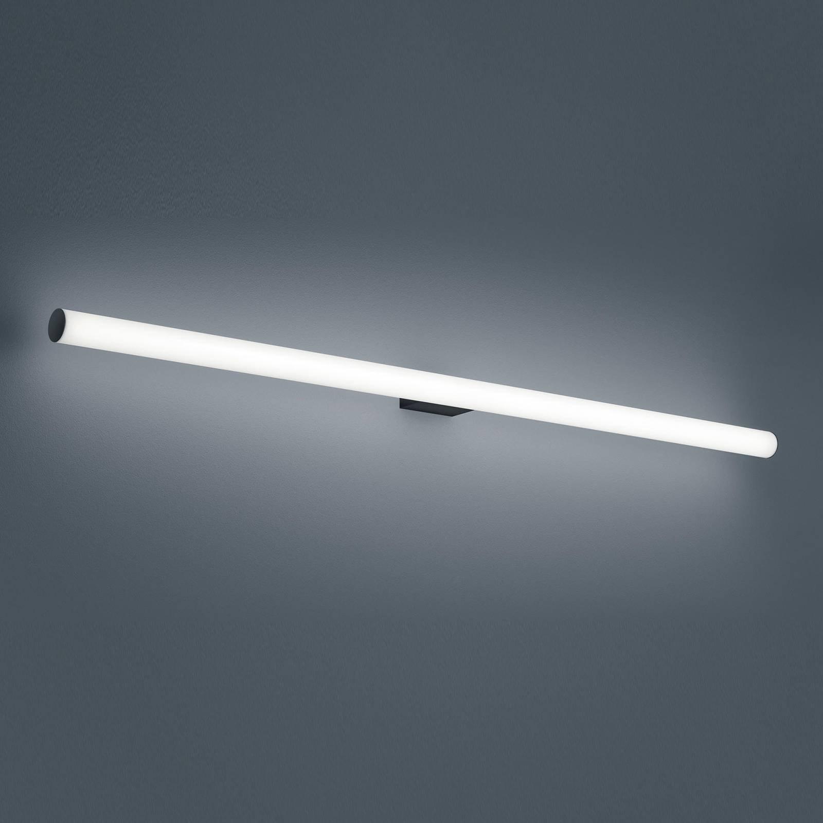 Helestra Loom LED-speillampe, svart, 120 cm