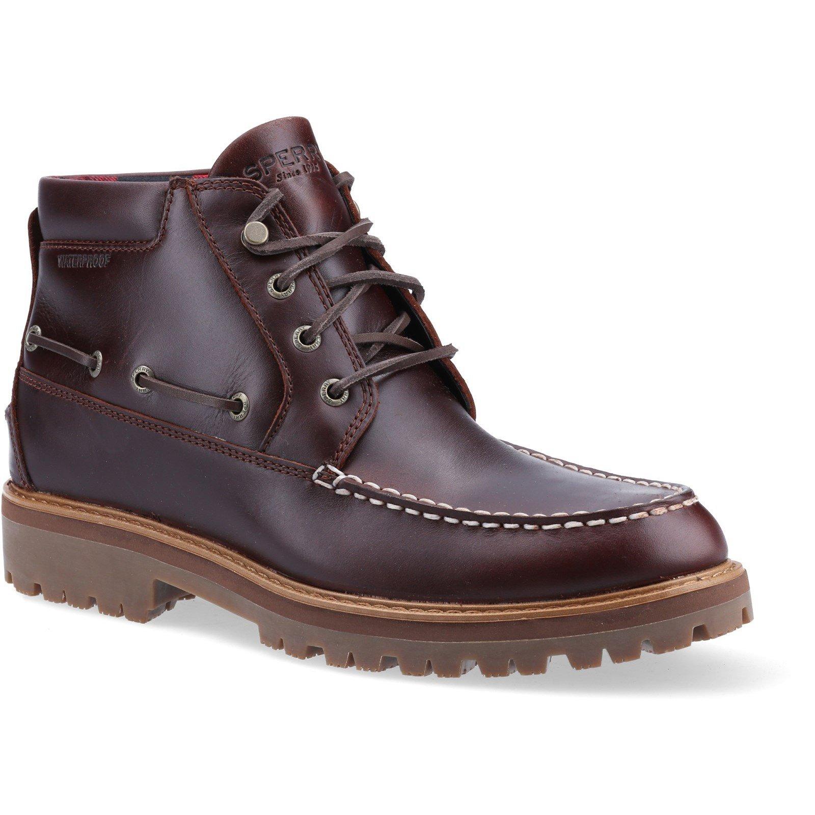 Sperry Men's Authentic Original Lug Chukka Boot Various Colours 32068 - Amaretto 10