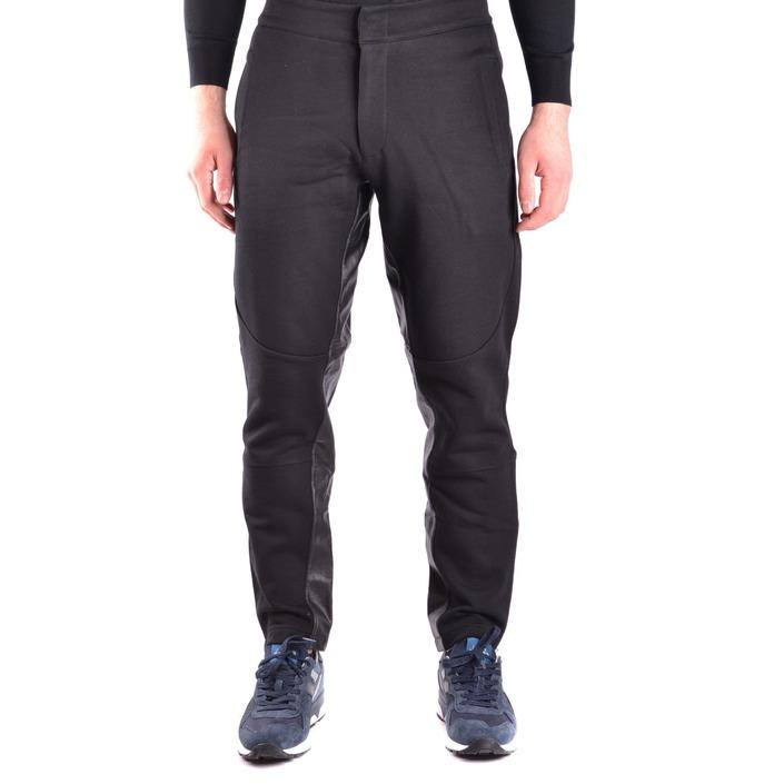 Alexander Mcqueen Men's Trouser Black 162076 - black M