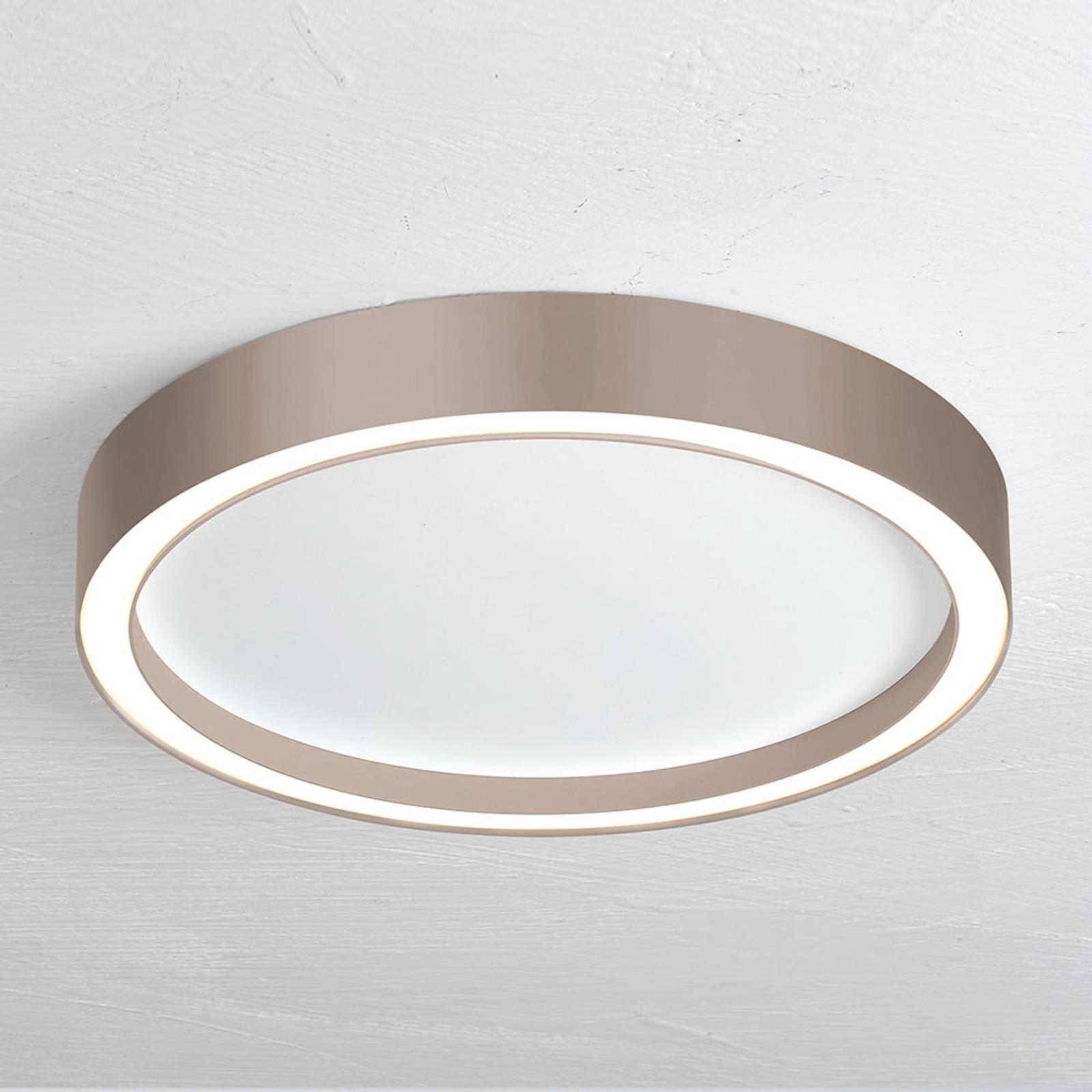 Bopp Aura LED-kattovalaisin Ø 30 cm taupe