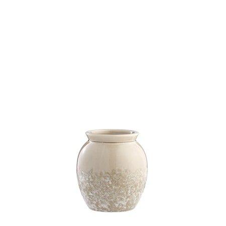 Vase Clary 15,5cm Beige