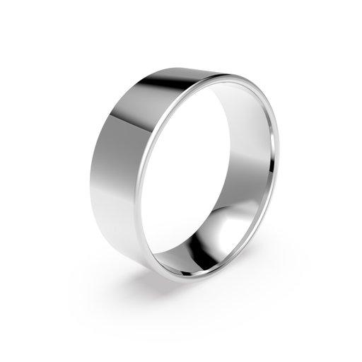 Förlovningsring i platina 7mm, 47