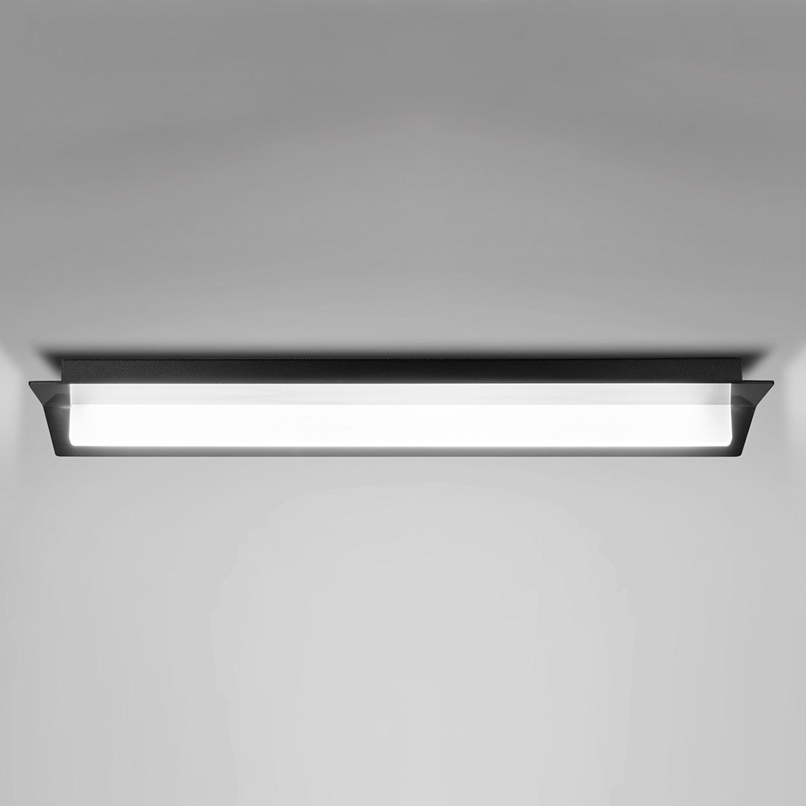 Mustalla ulkoasulla - LED-kattovalaisin Flurry_S