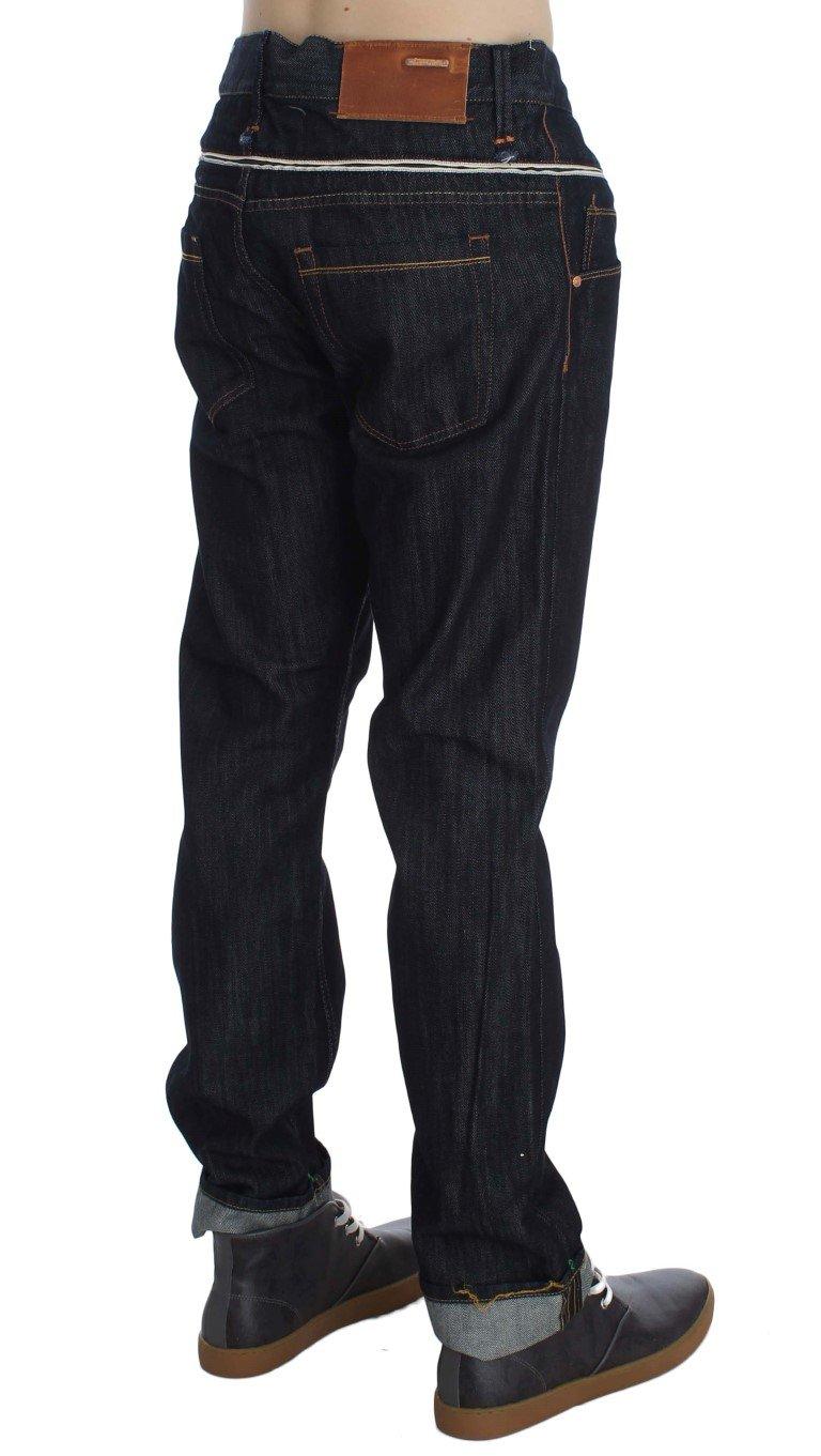 Acht Men's Cotton Regular Straight Fit Jeans Blue SIG30484 - W34