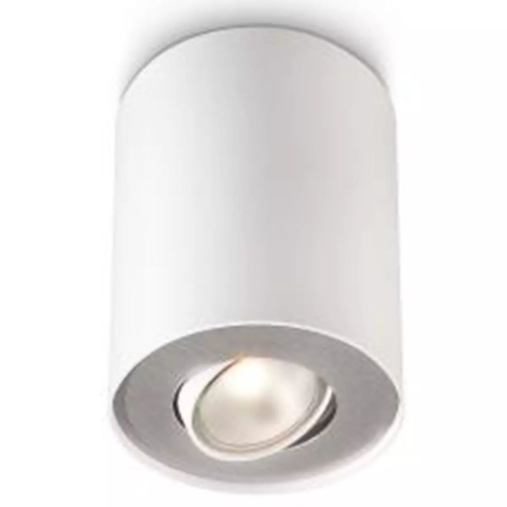 Philips - myLiving spotlys Pillar 50 W hvid - D