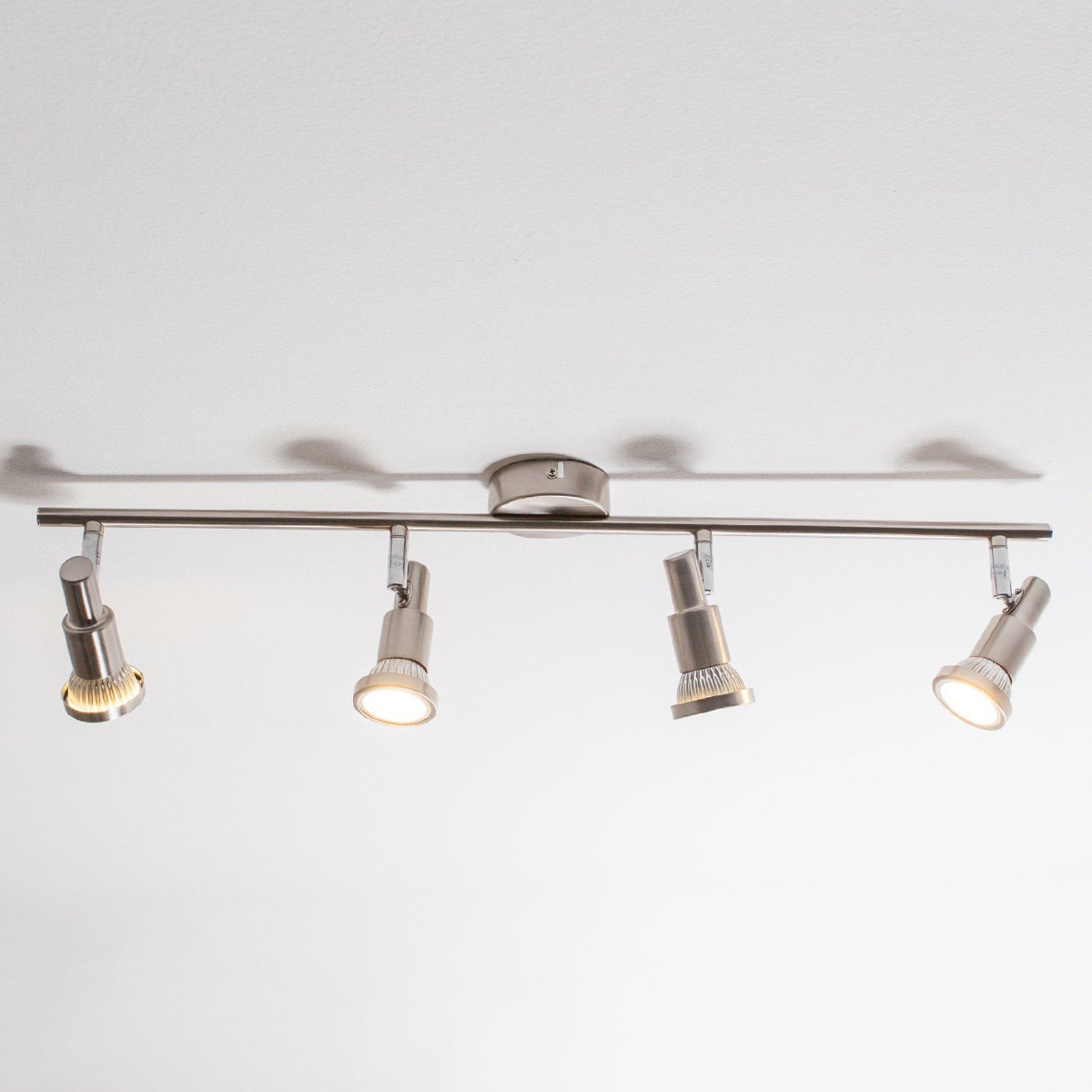 LED taklampe Aron med fire lyspunkter