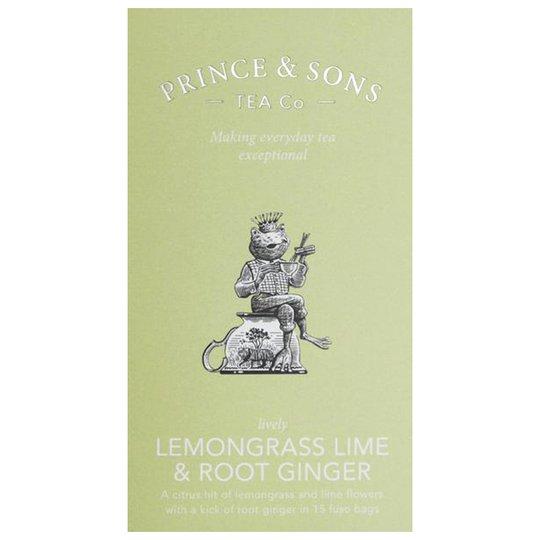 """Te """"Lemongrass Lime & Root Ginger"""" 37,5g - 63% rabatt"""