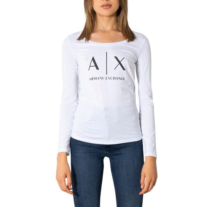 Armani Exchange Women's T-Shirt White 299509 - white XS