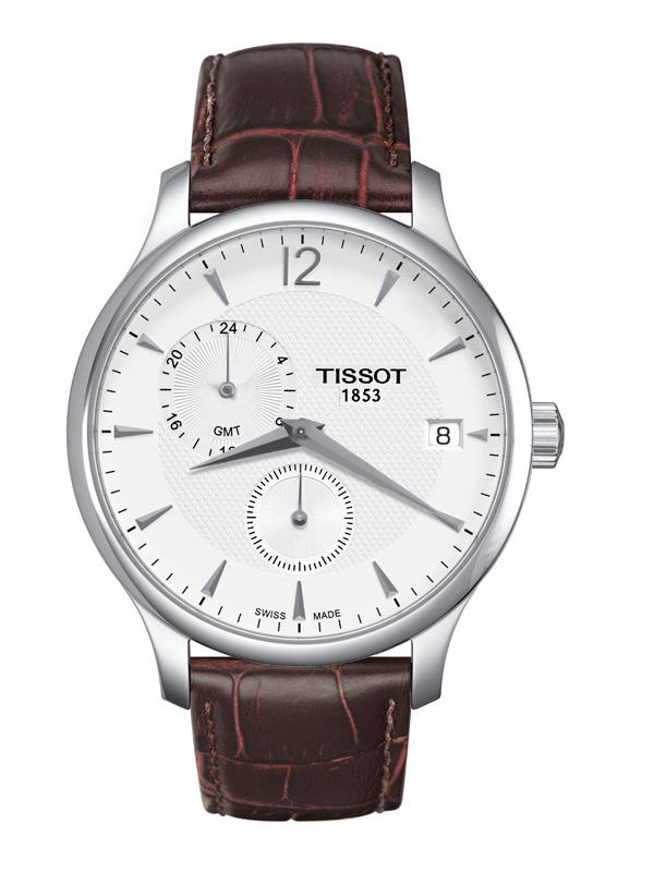 Tissot Tradition GMT T063.639.16.037.00 Herrklocka