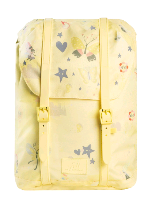 Frii of Norway - School Bag (22L) - Yellow (21100)