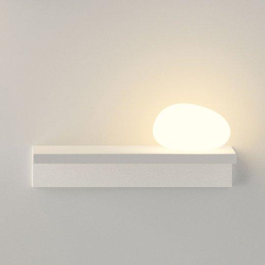 Hienostunut LED-seinävalaisin Suite 14 cm