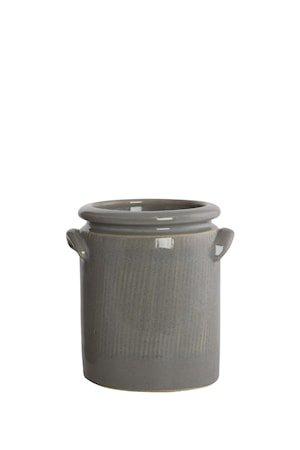Blomsterkrukke Pottery 15 cm - Lysegrå