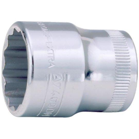 "Bahco A7400DZ-3/4 12-kulmainen hylsy 3/8"", tuumakoot 3/4"""