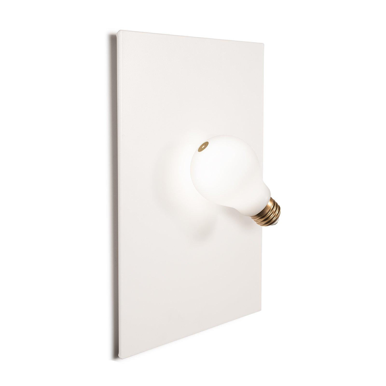 Slamp Idea LED-vegglampe, hvit