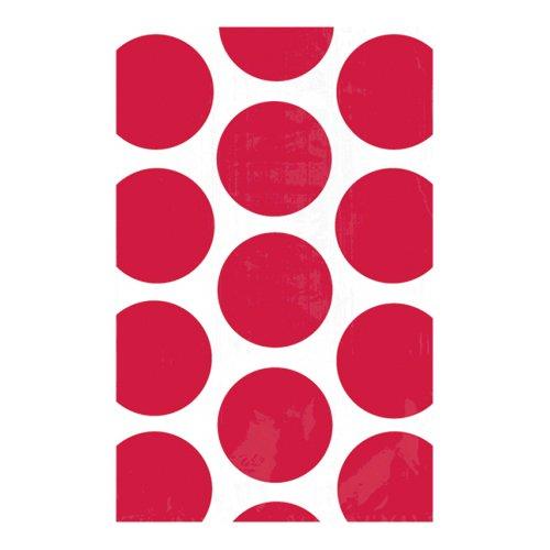 Kalaspåsar Polka Dot Äppelröda - 10-pack