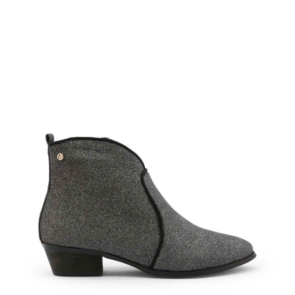 Roccobarocco Women's Ankle Boot Grey RBSC1JJ01GLI - grey EU 36