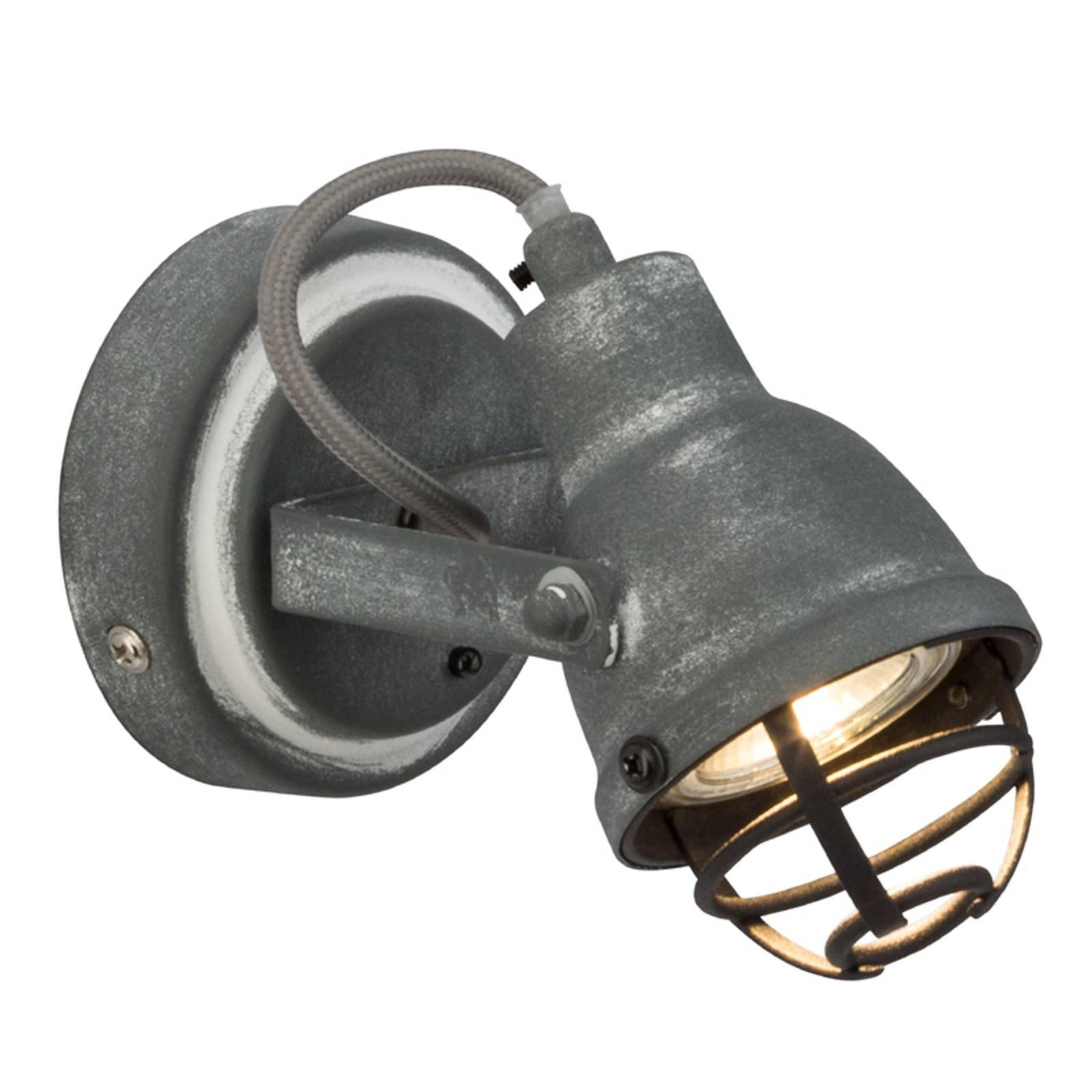 I trendy industri-look LED vegglampe Bente