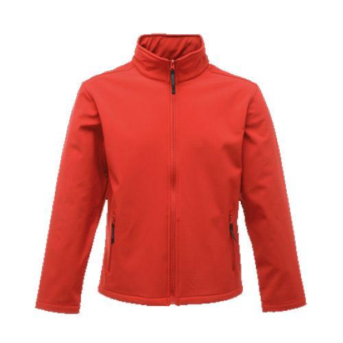 Regatta Men's Classic 3 Layer Softshell Jacket Red T_TRA681 - Red XL
