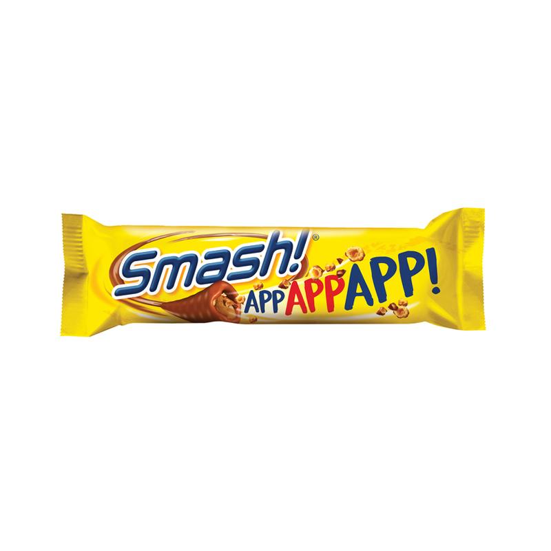 """Chokladbar """"Nidar Smash"""" 34g - 29% rabatt"""