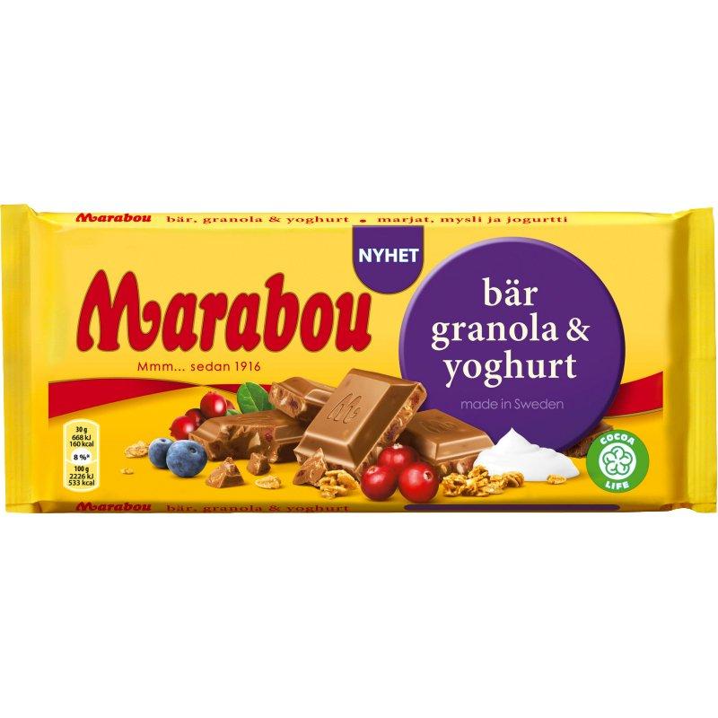 Chokladkaka Bär, Granola & Yoghurt 200g - 56% rabatt