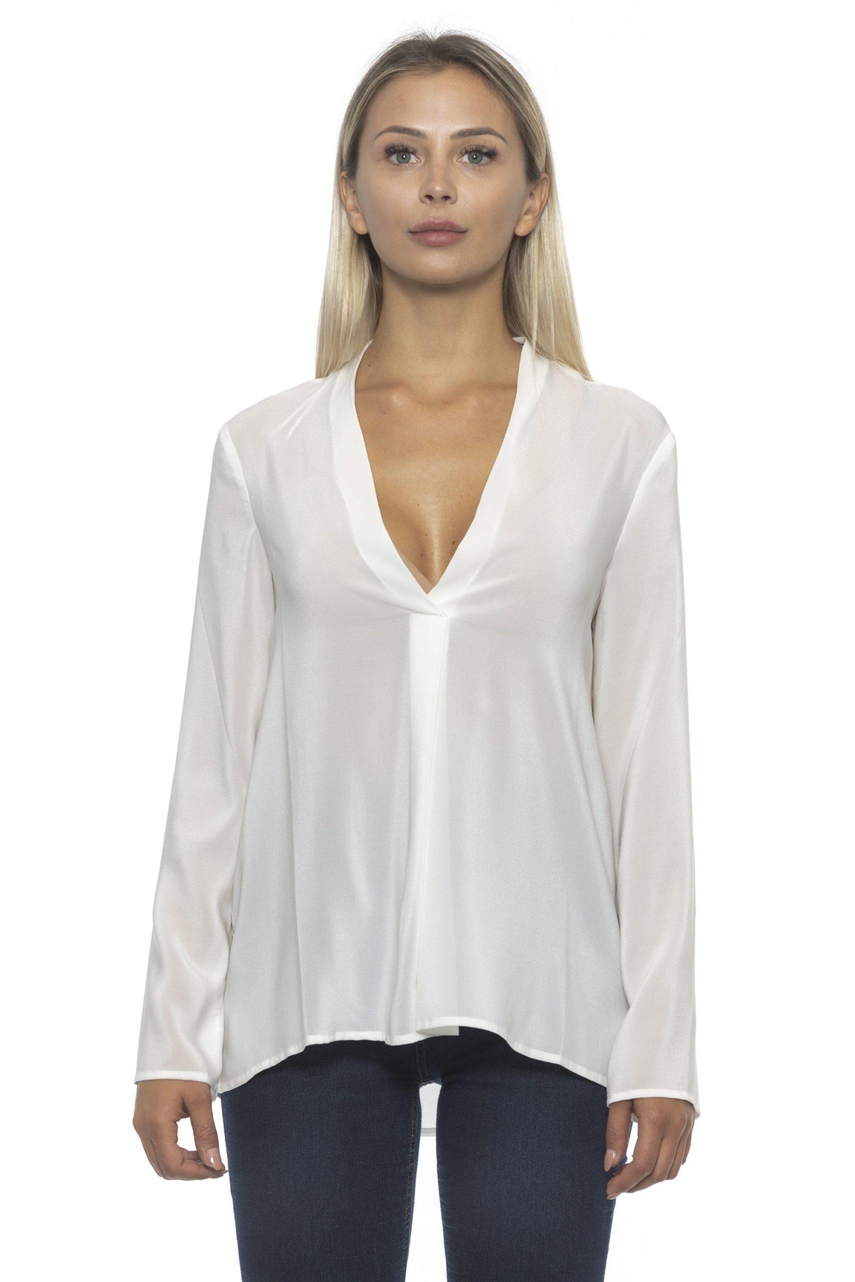 Alpha Studio Women's Latte Sweater White AL1192193-IT42-S - IT42 | S