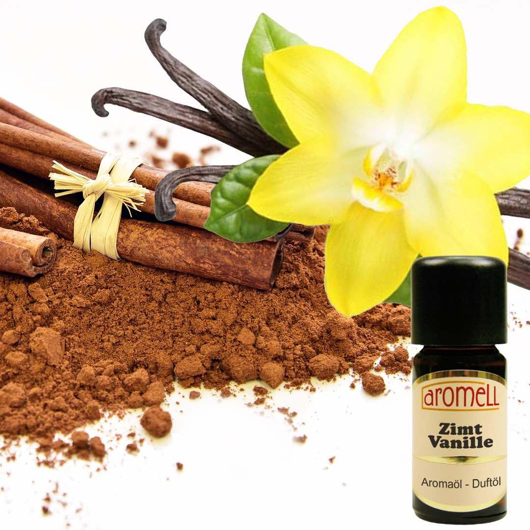 Vanilj och Kanel Doftolja 10ml - Aromell