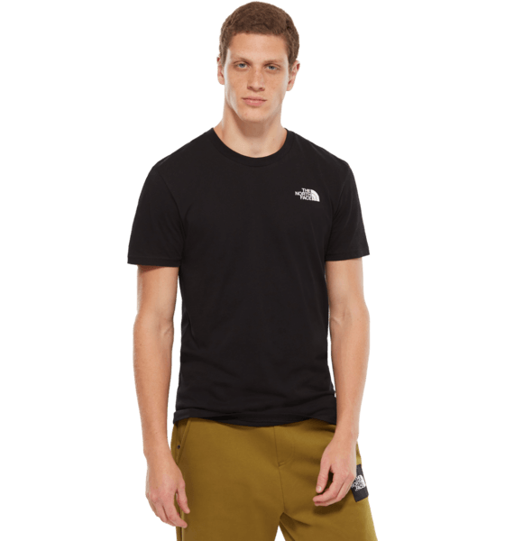 The North Face M S/s Simple Dome Te T-shirts BLACK
