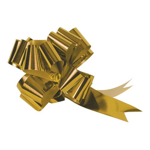 Dekrationsrosett Stor Guld - 5-pack