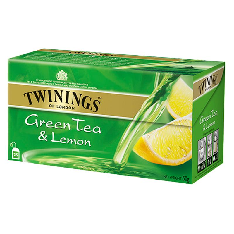 Grönt Te Citron 25-pack - 50% rabatt