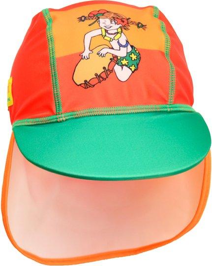 Swimpy Pippi UV-Hatt UPF 50+, Oransje, 74-80