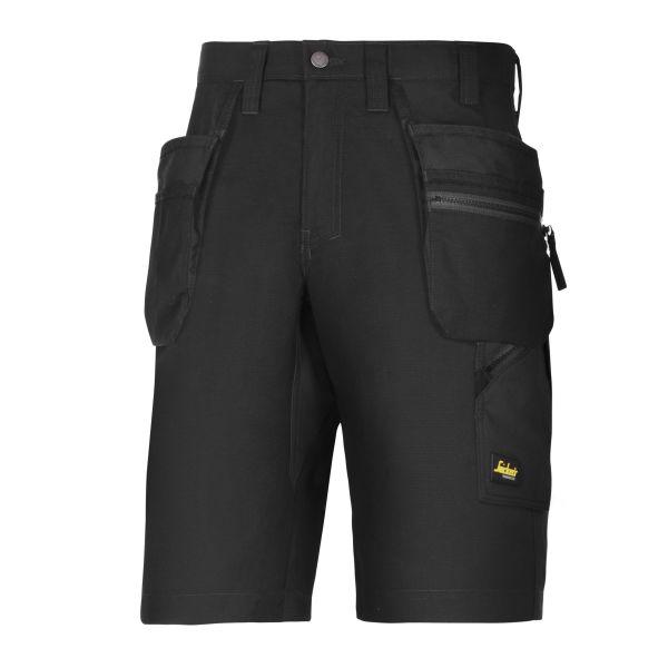 Snickers 6101 LiteWork Shorts svart C44